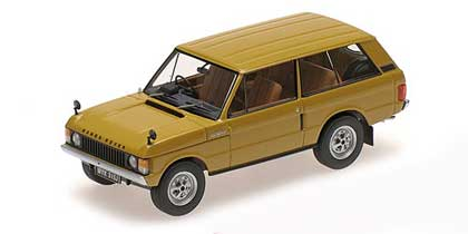 Voitures Civiles-1/43-AlmostReal-RANGE ROVER OR 1970