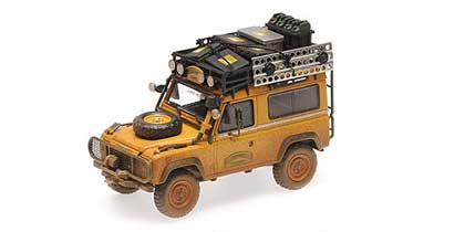 Voitures Competition-1/43-AlmostReal-Land Rover 90 Camel