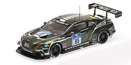 Voitures Competition-1/43-AlmostReal-Bentley GT3 ADAC