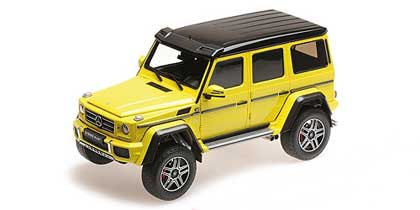 Voitures Civiles-1/18-AlmostReal-Mercedes G-Class 4x4²