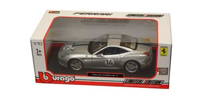 Voitures Civiles-1/18-BBurago-Ferrari California T