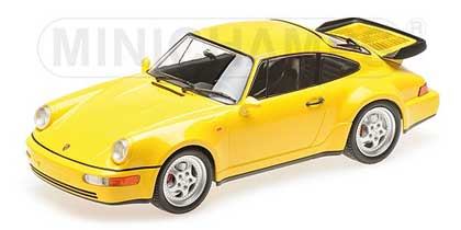 Voitures Civiles-1/18-Minichamps-Porsche 911 964 Turbo